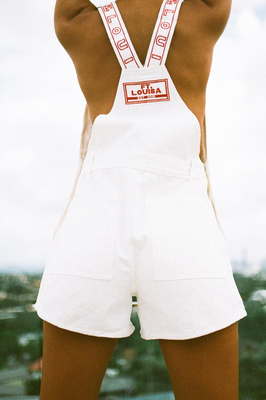 bottoms ft overalls   white denim 4