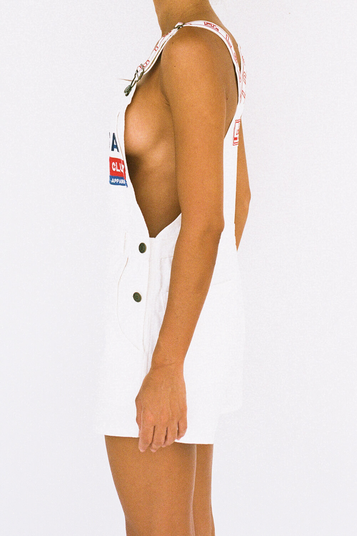 bottoms ft overalls   white denim 7
